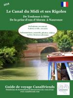 Guide canalfriends canal du midi et rigoles avril 2018
